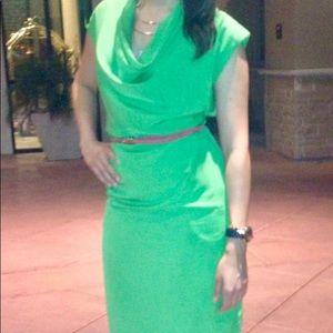 572039936d73d Ted Baker Dresses - Worn once - Ted Baker Green Cowl Neck Dress